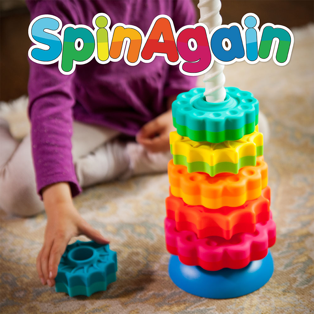 Educational toys learning toys from fat brain toys children having fun playing with spinagain negle Image collections