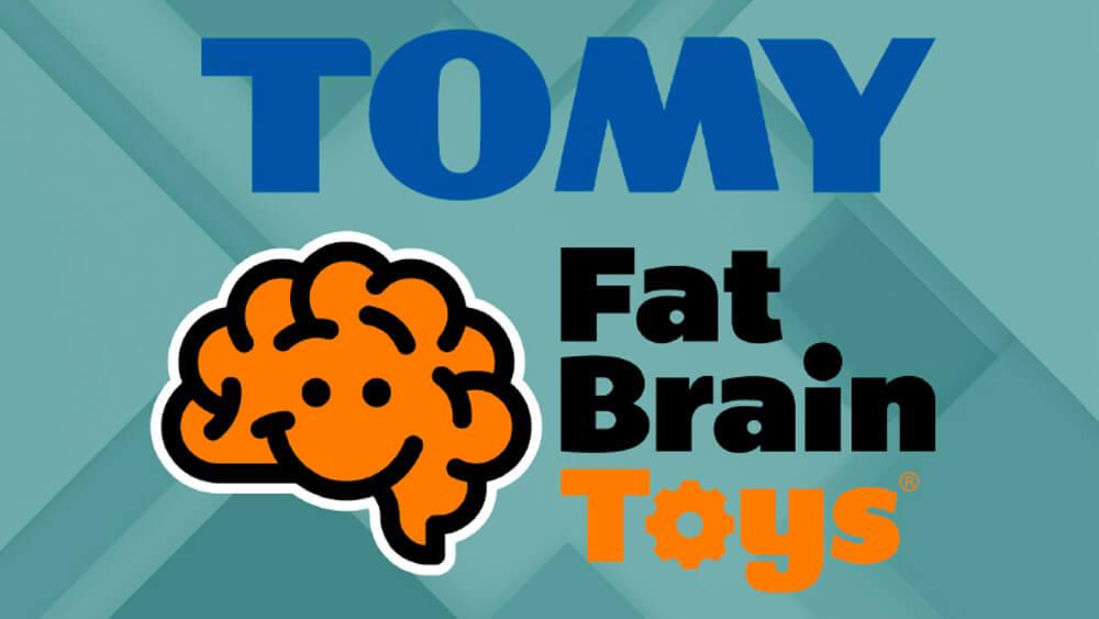 TOMY + Fat Brain Toys